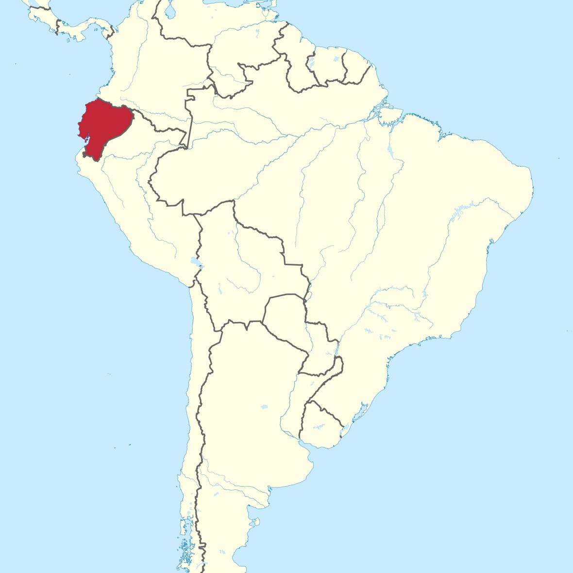 ecuador map | Musiker ohne Grenzen e.V.