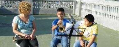 Als Musikerin o. Musiker